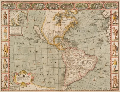 Lot 191 - The Americas. Speed (John), America with those known parts..., 1676