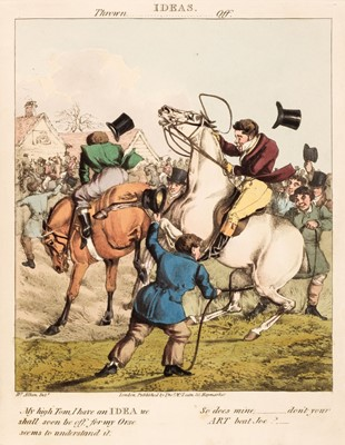 Lot 82 - Alken (Henry). Ideas, Accidental and Incidental to Hunting, 1826-30
