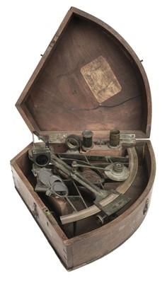 Lot 96 - Octant. 19th-century octant by J Hughes London