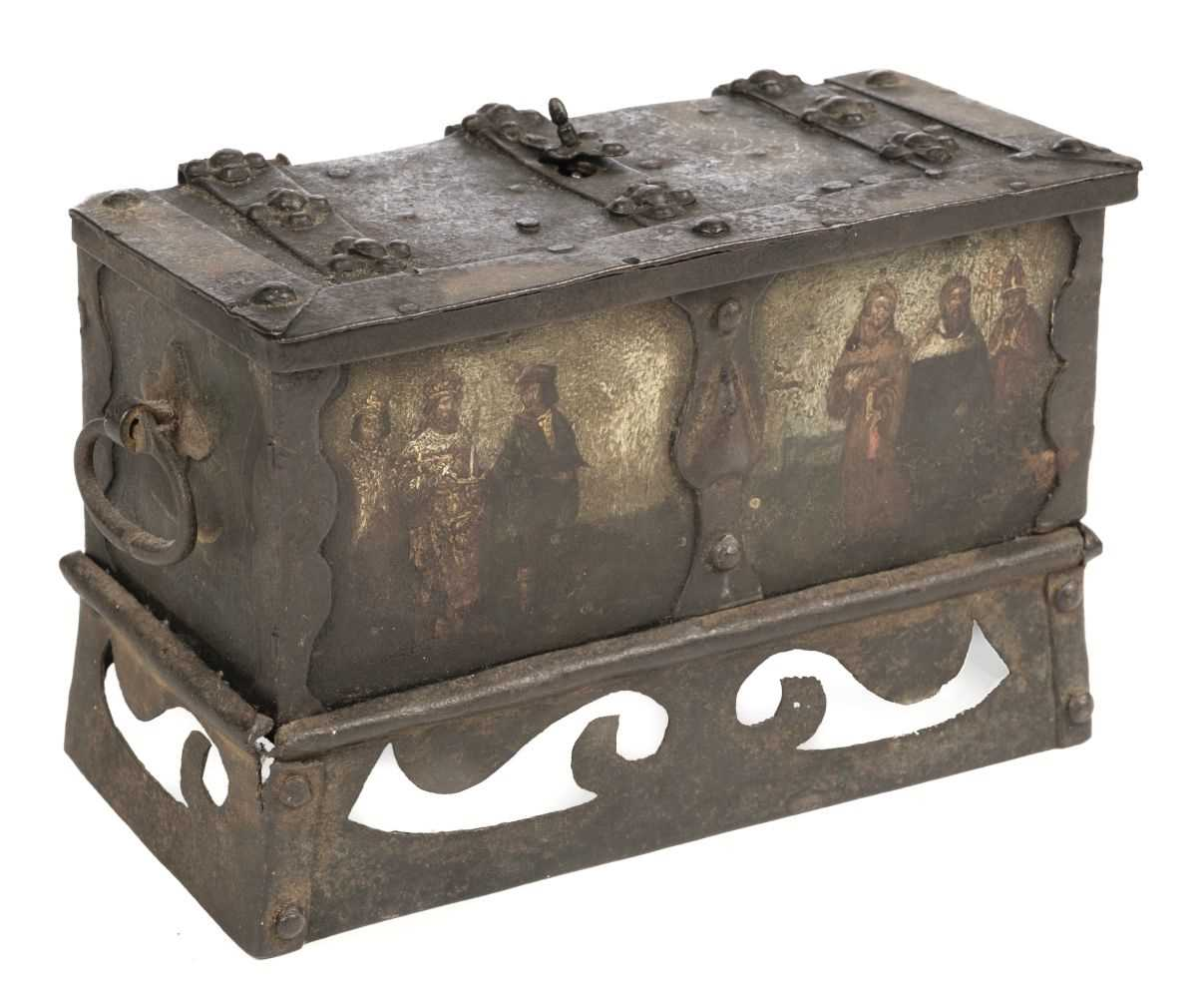 Lot 46 - Casket. German Nuremberg casket, probably 17th century