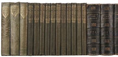 Lot 50 - Bell (James). A New and Comprehensive Gazetteer of England and Wales, & others