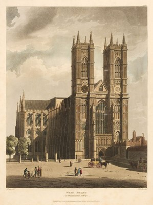 Lot 22 - Ackermann (Rudolph). The History of the Abbey Church of St Peter's Westminster, 1812
