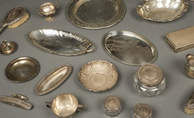 Lot 6 - American Silver. Mixed collection