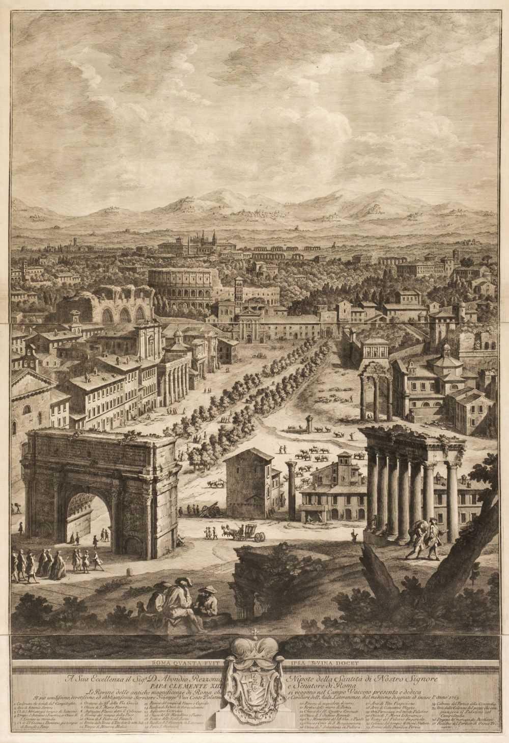 Lot 316 - Vasi (Giuseppe, 1710-1782). Le Rovine..., 1765