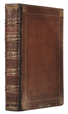 Lot 74 - Smith (John Thomas). Antiquities of Westminster, 1st edition, 1807 with another