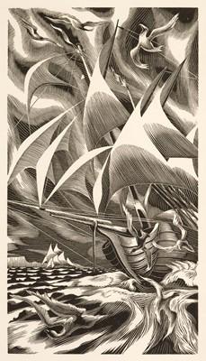 Lot 24 - Golden Cockerel Press. A Voyage Round the World, 1944