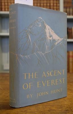Lot 29 - Hunt (John). The Ascent of Everest, 1st edition, 1953