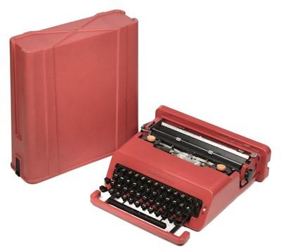 Lot 77 - Typewriter. Olivetti Valentine typewriter 1969-73