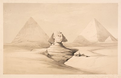 Lot 244 - Roberts (David). A collection of eleven views in Egypt & Nubia, F. G. Moon, 1846 - 47