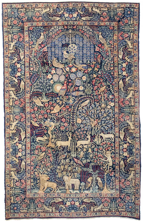 Lot 229 - Carpet. A Garden of Paradise Persian carpet, Tabriz, circa 1930