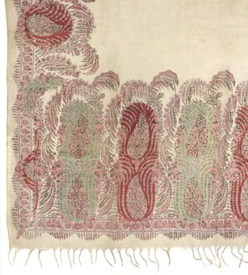 Lot 308 - Shawls. Two Norwich shawls, circa 1860-1880