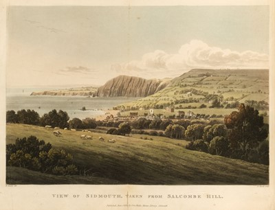 Lot 52 - Butcher (Edmund). Sidmouth Scenery; or, Views of the Principal Cottages and Residences..., [1819?]