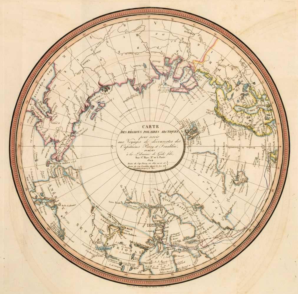 Lot 39 - Parry (William Edward). Voyage fait en 1819 et 1820, 1822