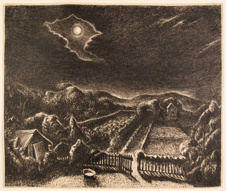 Lot 410 - Gag (Wanda, 1893-1946). Moonlight, 1926