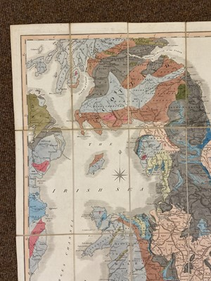 Lot 141 - England & Wales. Smith (William), A New Geological Map of England & Wales..., circa 1845