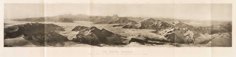 Lot 21 - Freshfield (Douglas). The Exploration of the Caucasus, 1st edition, 2 volumes, Edward Arnold, 1896