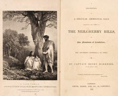 Lot 25 - Harkness (Henry). A Description of a Singular Aboriginal Race Inhabiting... , 1st edition, 1832