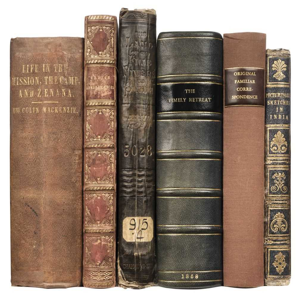 Lot 33 - Mackenzie (Mrs Colin). Life in the Mission, the Camp..., 2 vol. in 1, 2nd revised edition, 1854