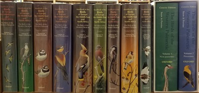 Lot 90 - Cramp (Stanley [chief editor]). Handbook of the Birds of Eurrope, the Middle East and North Africa