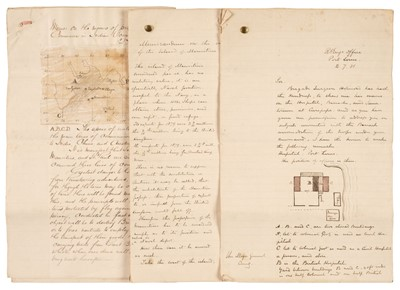 Lot 272 - Gordon (Charles George, 1833-1885). An important Autograph Letter Signed, [Mauritius], 2 July 1881