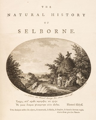 Lot 114 - White (Gilbert). Natural History and Antiquities of Selborne, 1st edition, 1789