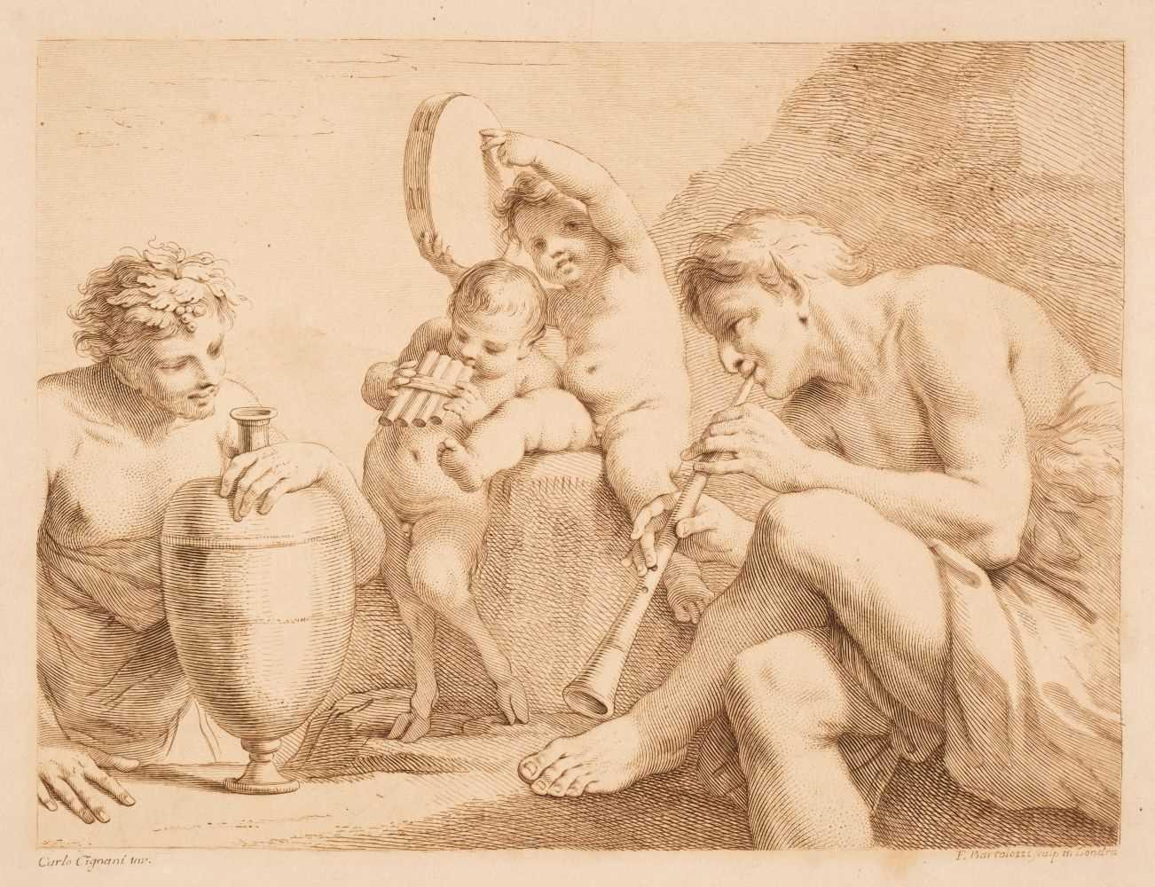 Lot 369 - Bartolozzi (Francesco). Eighty-Two [Seventy-three] Prints..., 2 vols., c.1800