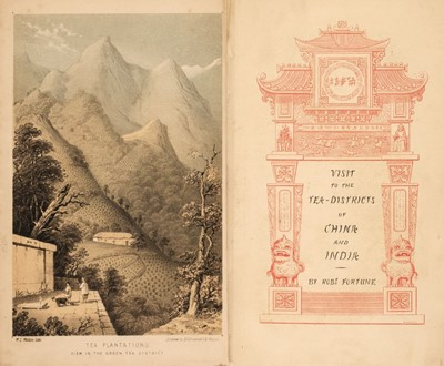 Lot 20 - Fortune (Robert). A Journey to the Tea Countries of China... , 1st edition, John Murray, 1852