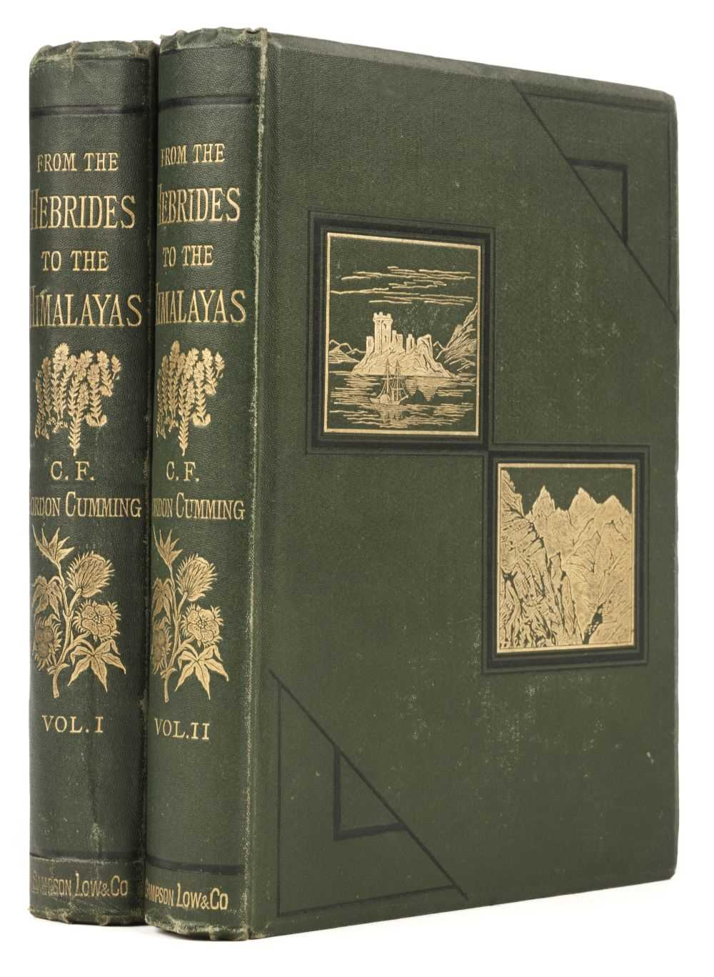 Lot 14 - Cumming (Constance F. Gordon). From the Hebrides to the Himalayas... , 2 volumes, 1st edition, 1876