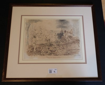 Lot 8 - Dutch East Indies. Coupe des cannes a Jawa [Cutting the canes at Java], and one other similar