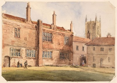 Lot 377 - Yorkshire. Hull and Neighbourhood, Sketches 1882-1883