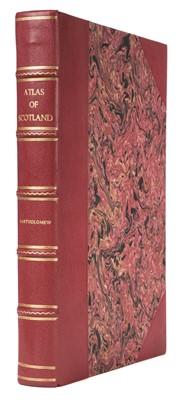 Lot 24 - Bartholomew (J. G.). The Royal Scottish Geographical Society's Atlas of Scotland, 1895