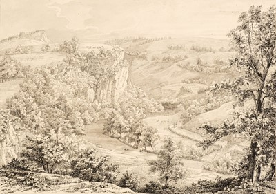 Lot 373 - Ibbitt (William, 1804-1869). A View of Matlock Dale ..., and one other similar