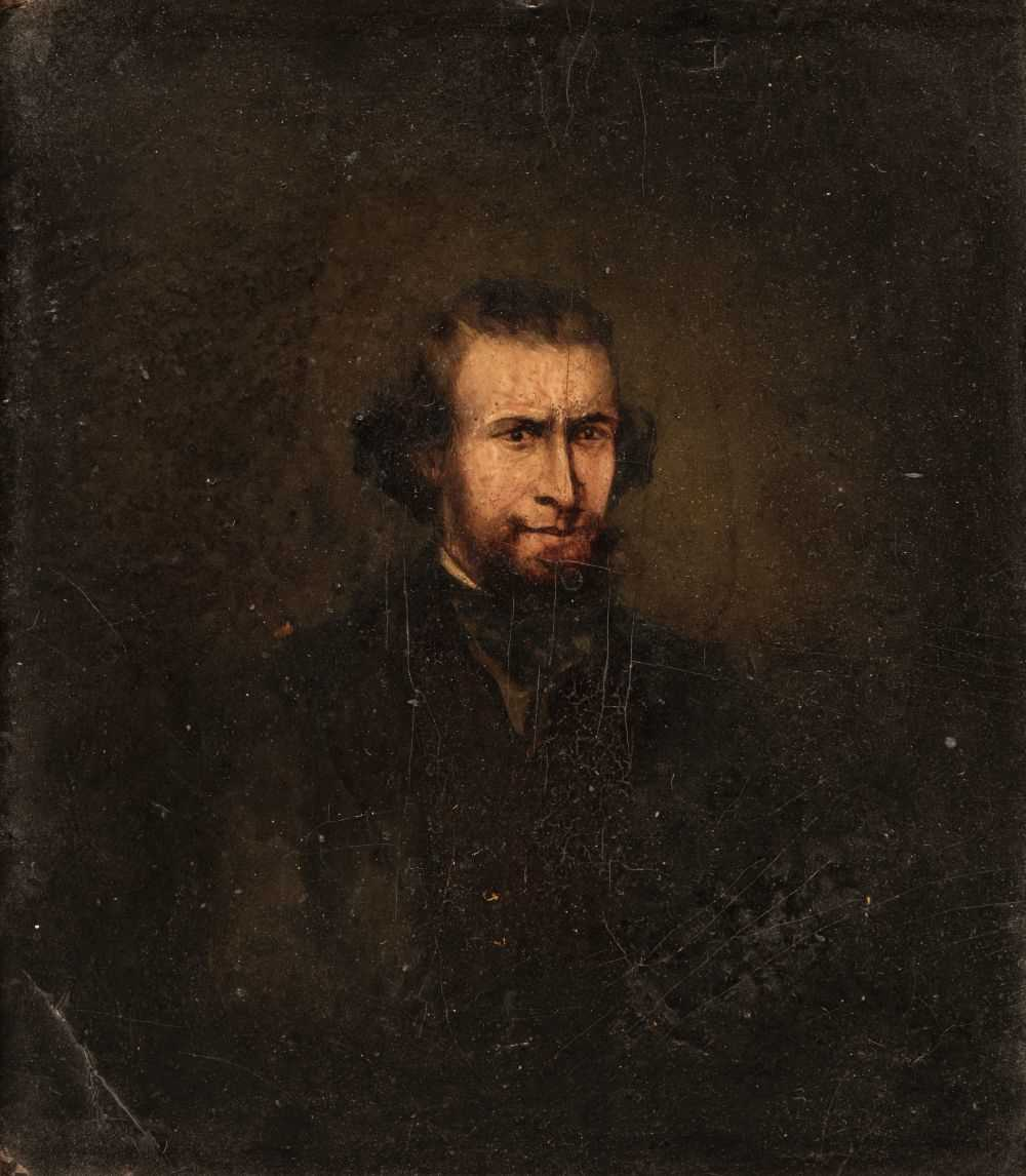 Lot 331 - English School. Portrait of Frederick Henry Cooper (1827-1869), aged 34