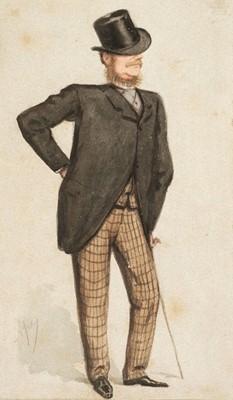 Lot 379 - Pellegrini (Carlo, pseud. 'Ape', 1839-1889). Earl of Abergavenny, June 26 1875