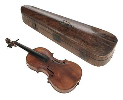 Lot 80 - Violin. Baader & Co violin circa 1907