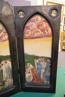 Lot 575 - Sleigh (Bernard, 1872-1954). The Crucifixion: A Triptych, 1929
