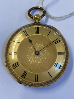 Lot 36 - Pocket Watch. 18ct & 9ct gold pocket watches