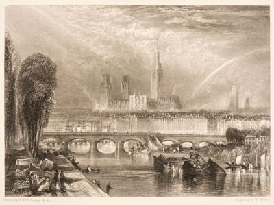 Lot 392 - Turner (Joseph Mallord William, 1775-1851). Twenty Illustrations to Turner's Annual Tour for 1834