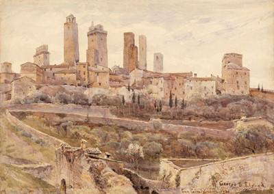 Lot 364 - Elgood (George S., 1851-1943). San Gimignano, 1881