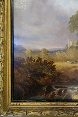 Lot 339 - English School. View of Windsor Castle