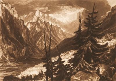 Lot 394 - Turner (Joseph Mallord William, 1775-1851). The Source of the Arveron & Lake Thun