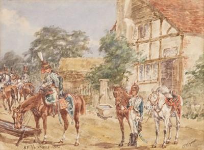 Lot 386 - Wymer (Reginald Augustus, 1849-1935), XV (King's) Hussars, 1872