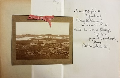 Lot 21 - Donaldson (M. E. M.). Further Wanderings-Mainly in Argyll, 1st edition, circa 1933