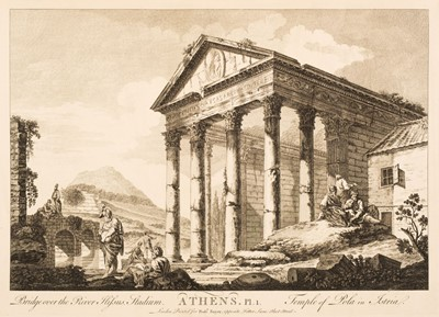 Lot 19 - Le Roy (Julien-David). Ruins of Athens with remains and other valuable antiquities in Greece, 1759