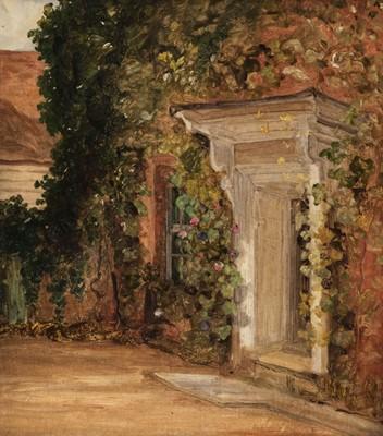 Lot 334 - Churchyard (Thomas, 1798-1865). Study of a Georgian Doorway; Cul-de-Sac
