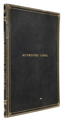 Lot 21 - Ackermann (Rudolph) The History of Westminster School, 1st edition, 1816