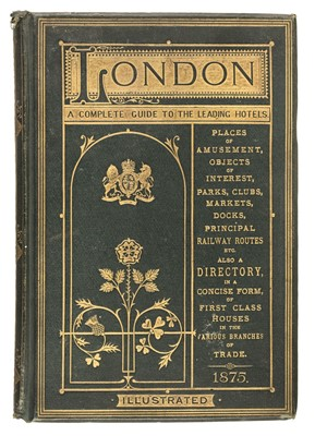 Lot 26 - Herbert (Henry, publisher). London (Illustrated). A Complete Guide, 1875