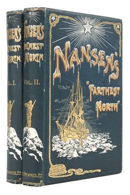 "Lot 12 - Nansen (Fridtjof). ""Farthest North"", 1898"
