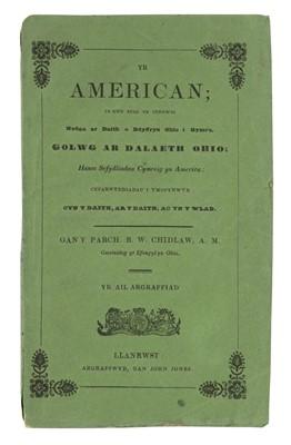 Lot 7 - Chidlaw (B.W.) Yr American, 1840