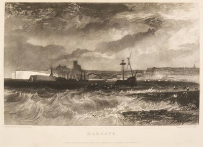 Lot 45 - Turner (J.M.W.) The Harbours of England, 1856